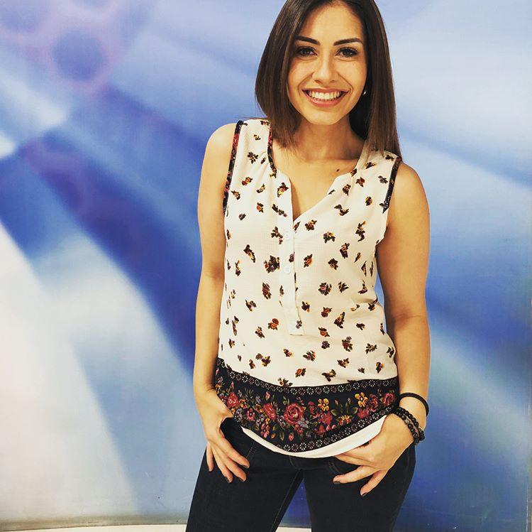 Fotos de Maria Renée Pérez Yonker presentadora TV Noti7 Nuestro Mundo Guatemala