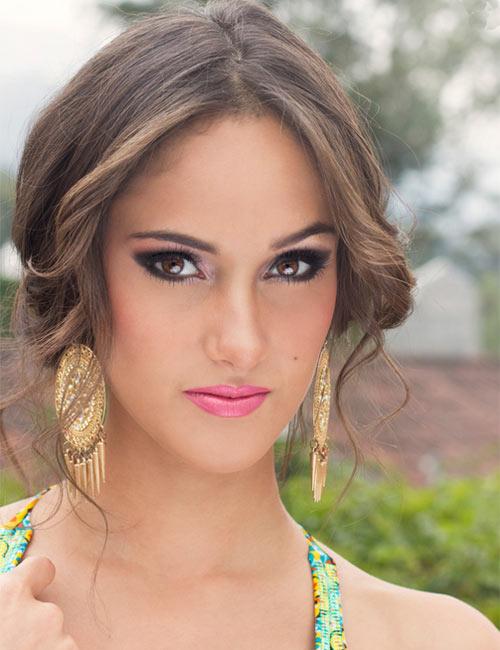 Ana Luisa Montufar Miss Guatemala 2014