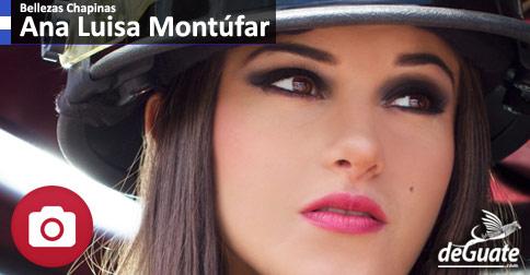 Ana Luisa Montúfar Miss Guatemala 2014